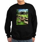 Angkor Wat Ruined Causeway Sweatshirt (dark)
