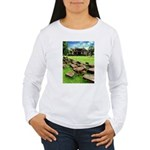 Angkor Wat Ruined Causeway Women's Long Sleeve T-S