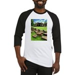 Angkor Wat Ruined Causeway Baseball Jersey