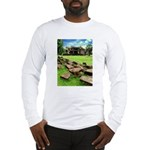 Angkor Wat Ruined Causeway Long Sleeve T-Shirt