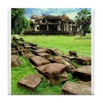 Angkor Wat Ruined Causeway Tile Coaster