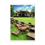 Angkor Wat Ruined Causeway Mini Poster Print