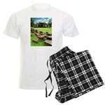 Angkor Wat Ruined Causeway Men's Light Pajamas