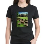 Angkor Wat Ruined Causeway Women's Dark T-Shirt