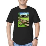Angkor Wat Ruined Causeway Men's Fitted T-Shirt (d