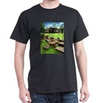 Angkor Wat Ruined Causeway Dark T-Shirt