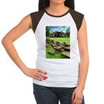 Angkor Wat Ruined Causeway Women's Cap Sleeve T-Sh