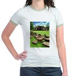 Angkor Wat Ruined Causeway Jr. Ringer T-Shirt