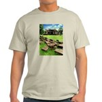 Angkor Wat Ruined Causeway Light T-Shirt
