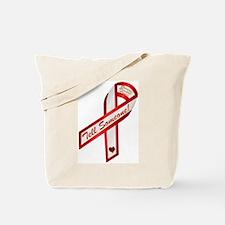 Tell Someone Ribbon Campaign Tote Bag