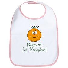 Babcia's Little Pumpkin Bib