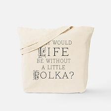 Polka Gift Tote Bag