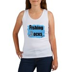 FISHING ROCKS Women's Tank Top