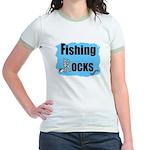 FISHING ROCKS Jr. Ringer T-Shirt