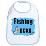FISHING ROCKS Bib