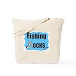 FISHING ROCKS Tote Bag