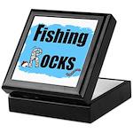 FISHING ROCKS Keepsake Box