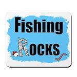 FISHING ROCKS Mousepad