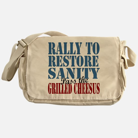 Grilled Cheesus Messenger Bag