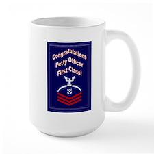 Congratulations Petty Officer Mug