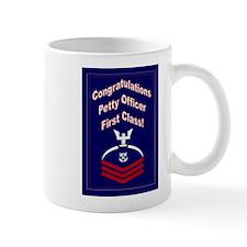 Congratulations Petty Officer Small Mug
