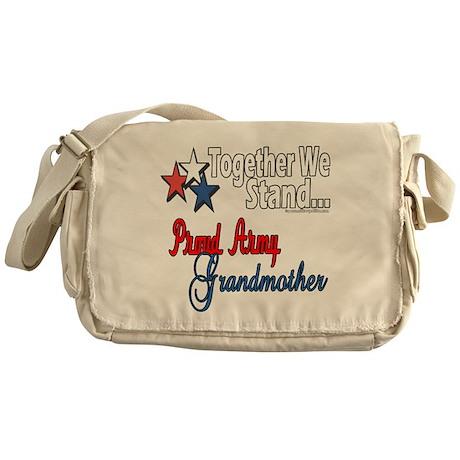 Army Grandma Messenger Bag