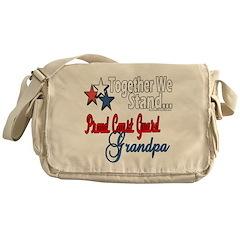Coast Guard Grandpa Messenger Bag