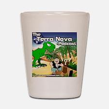 Terra Nova Podcast Shot Glass