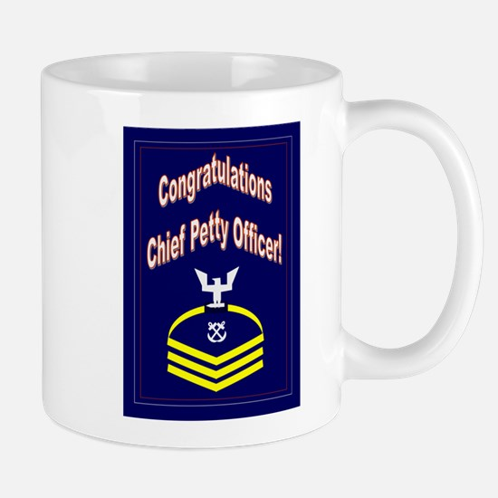 Congratulations Chief Petty O Mug