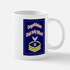 Congratulations Chief Petty O Small Small Mug
