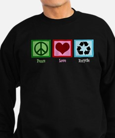 Peace Love Recycle Sweatshirt