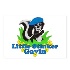Little Stinker Gavin Postcards (Package of 8)