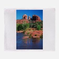 Cathedral Rock, Sedona Throw Blanket