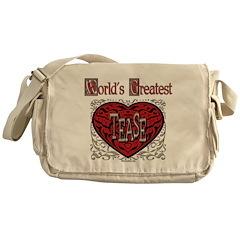 World's Best Tease Messenger Bag