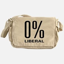 0% Liberal Messenger Bag