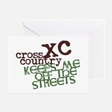 XC Keeps off Streets © Greeting Card