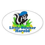 Little Stinker Harold Sticker (Oval)