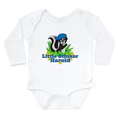 Little Stinker Harold Long Sleeve Infant Bodysuit