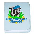 Little Stinker Harold baby blanket