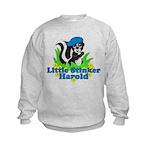 Little Stinker Harold Kids Sweatshirt