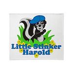 Little Stinker Harold Throw Blanket