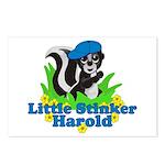 Little Stinker Harold Postcards (Package of 8)