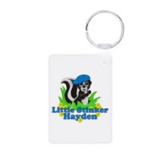 Little Stinker Hayden Aluminum Photo Keychain