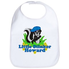 Little Stinker Howard Bib
