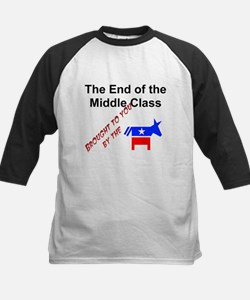End of the Middle Class Kids Baseball Jersey