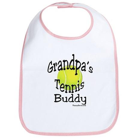TENNIS GRANDPA'S BUDDY Bib