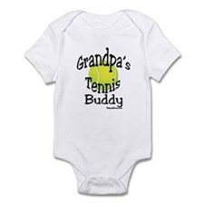 TENNIS GRANDPA'S BUDDY Infant Bodysuit