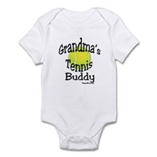 TENNIS GRANDMA'S BUDDY Infant Bodysuit