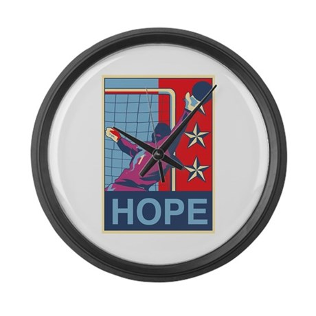 Hope! Large Wall Clock