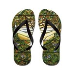 Tiffany Stained Glass Flip Flops